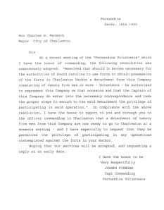 Joseph Finnegan Letter