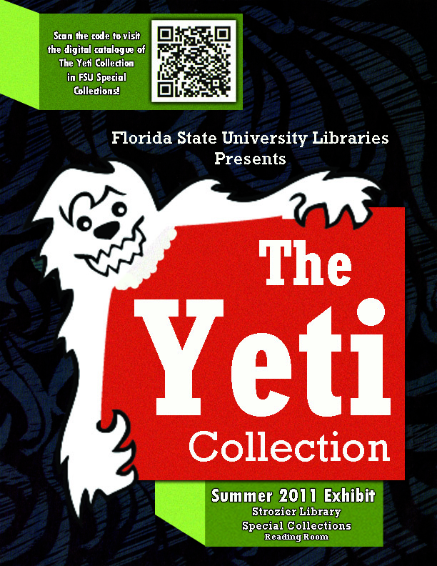 English archivesblogs page 88 the yeti collection exhibit displays materials that were donated to fsu special collections in march 2011 by the editors of the yeti an independent student fandeluxe Gallery