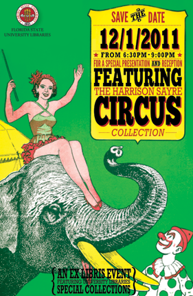 Harrison Sayre Circus Collection Event