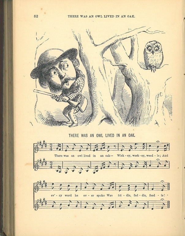 The Illustrated book of nursery rhymes and songs : with musicillustrations by Keeley Halswelle. London ; Edinburgh ; and New York : T. Nelson and Sons, 1876. 1 score (112 p.) : ill. (woodcuts) ; 19 cm