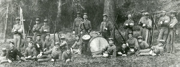 West Florida Seminary Cadet Corps, circa 1880s