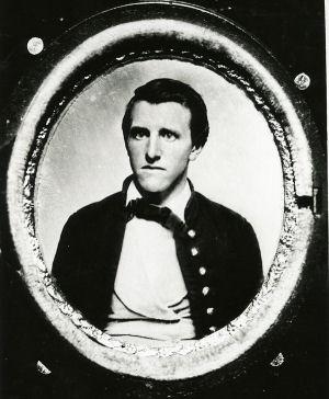 VMI Cadet Photograph of Valentine Mason Johnson, circa 1860