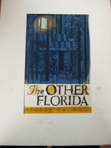 Earlier book jacket design, Gloria Jahoda Papers, Box 317