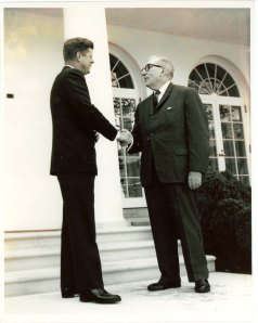 John F. Kennedy and Claude Pepper