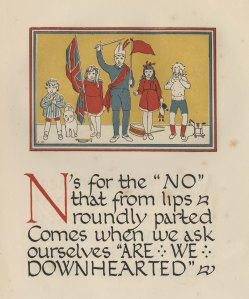 Page from The Child's ABC of the War