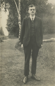 Paul Dirac Shown on a Country Road, June 1927