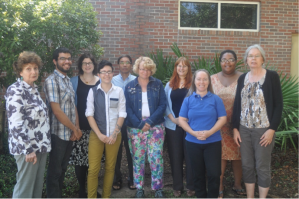 The faculty and staff of the Cataloging and Description department