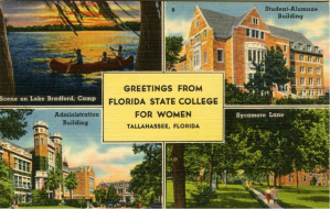 Greetings from Florida State College for Women, see full description here.
