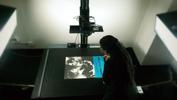 Large-format camera