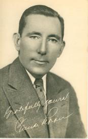A campaign card from Claude's 1938 senate bid.