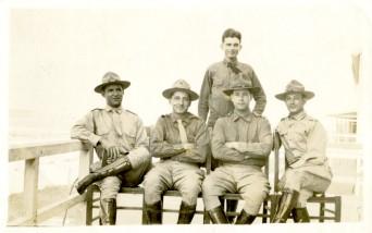 Former Florida governor Spessard Holland during World War I ca. 1918.