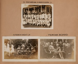 """19-Freshmen Commission-31,"" from the Class of 1934 Scrapbook (HP 2007-042) Learn more about this scrapbook here"
