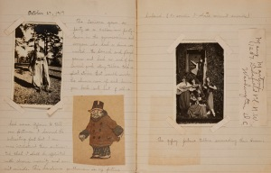 """October 27, 1917,"" Marion Emerett Colman Scrapbook (HP 2007-130 vol. 2).  You can find more information here"