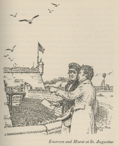 Illustration of Murat and Emerson from A Prince In Their Midst