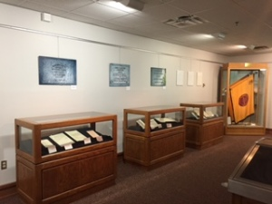 A look at the finished exhibit