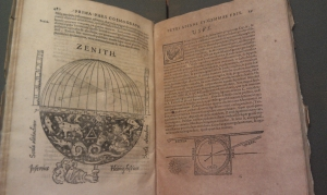 (Photo credit: Rebecca Bramlett) From the 1584 edition of Peter Apian's Cosmographia