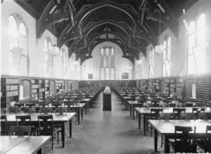Dodd Hall Library, c. 1964