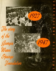 Warm Springs Foundation 20th Anniversary booklet.