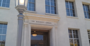The Bancroft Library is the University of California Berkeley's rare book and manuscript repository