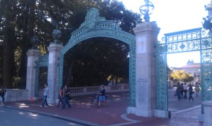 Sather Gate, The University of California Berkeley
