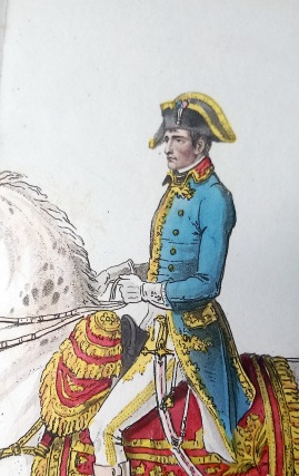 Napoleon Bonaparte on his Celebrated White Charger, Ireland's Life of Napoleon Vol. 1
