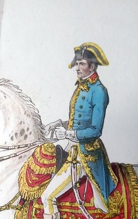 Napoleon Bonaparte on his Celebrated White Charger, Ireland's Life of Napoleon Vol. 1