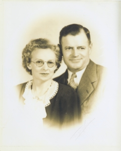 Lee Causseaux and his Wife, Alma