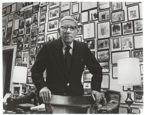 Congressman Pepper in his office, ca. 1980.