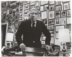 Congressman Pepper in his office, ca. 1980.