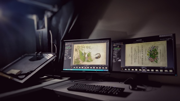 Capture One Pro in the Digital Library Center