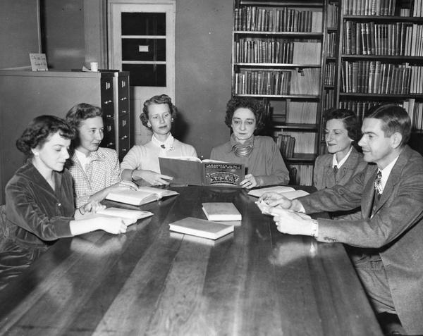 Conferences: the original social media. From the FSU Digital Library