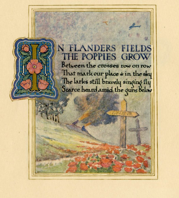 In Flanders Field, 1921
