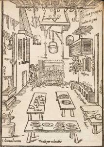 Setting up your kitchen according to a 1622 Italian cookbook