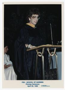 School of Nursing Pinning Ceremony; April 29, 1988 http://purl.flvc.org/fsu/fd/FSU_HPUA_2014111_B42_F4_4_004