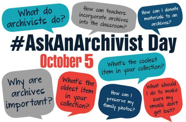 #AskAnArchivist Day 2016