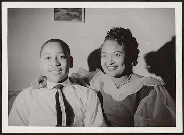 Emmett and Mamie Till, 1954