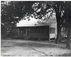 Mose Wright Home, circa 1955