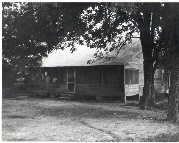 Mose Wright Home, circa 1955