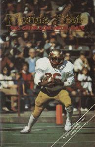 Florida State 1982 Gator Bowl Media Guide