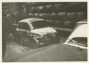 car destroyed florence