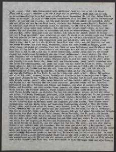 Letter from Mia Hasterlik to Giulia Koritschoner, August 16, 1945