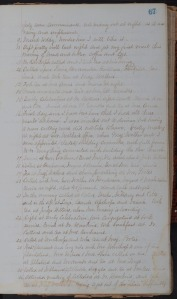Page from Journal of W.H. Carter, 1874-1897