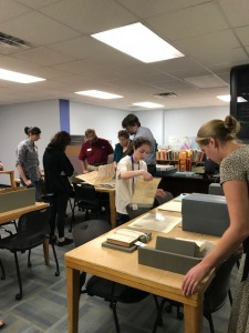 Visitors to our FSU Faculty & Staff Open House on October 26, 2018