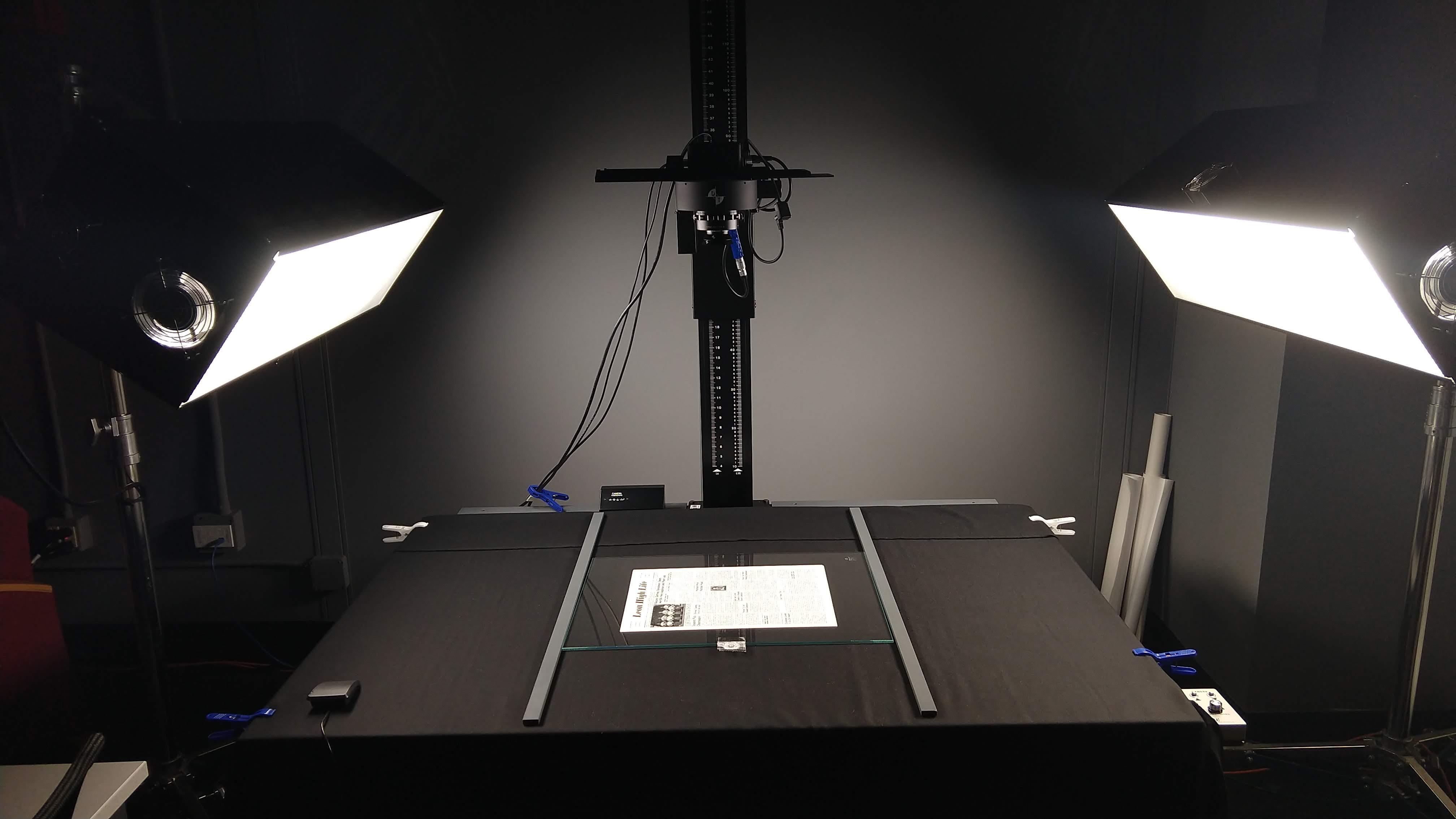 IQ180 Camera Setup