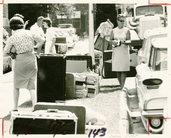 Moving Day at Florida State University, circa 1960s