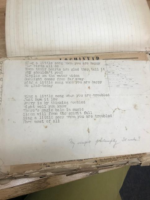 diary poem