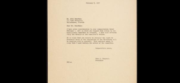 Boardman Letter