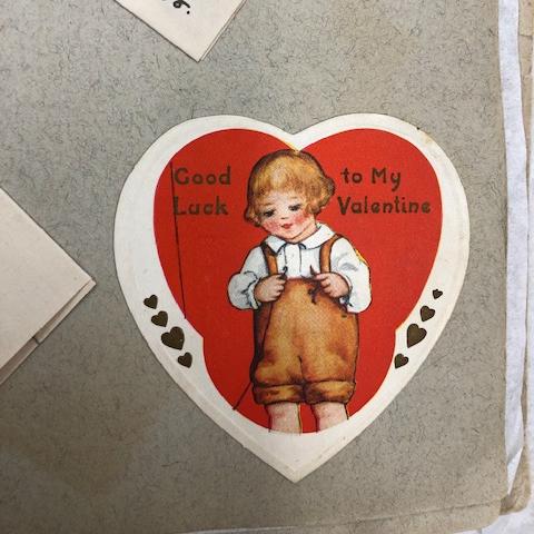 Heart-shaped Valentine