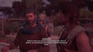 Herodotos explains ostracism