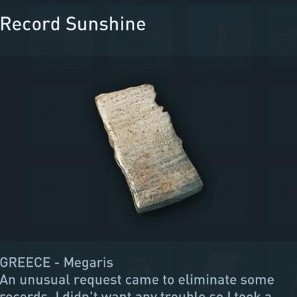 record sunshine